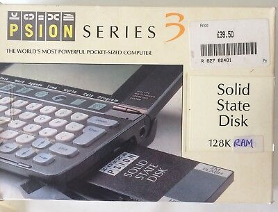 Psion SSD RAM for Series 3 128K New & Boxed