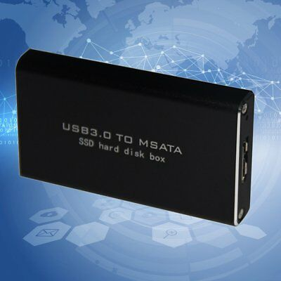 LS-721M USB 3.0 TO MSATA SSD Hard Disk Box For 3060/3042 Storage With Cable AZ