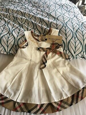 Burberry Baby dress Age 3-6 Months Replica