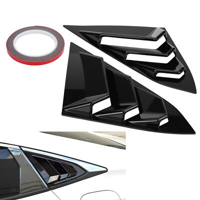 Chrome Pillar Posts fit Ford Windstar 95-03 2pc Set Door Trim Mirrored Cover Kit