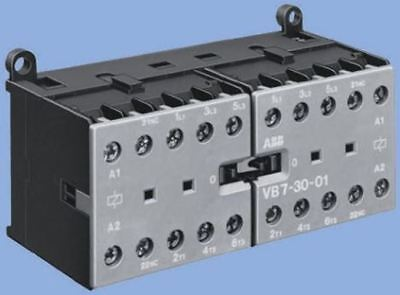 ABB System M Pro S200 3 Pole Contactor, 3NO, 9 A, 5.5 kW, 240 V ac Coil