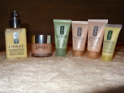 Lot Clinique ! Emulsion Hydratante Differente ! Gel Creme Desalterant ! Neuf