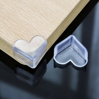 10pcs Baby Child Safety Silicone Protector Table Edge Corner Guards Soft Covers