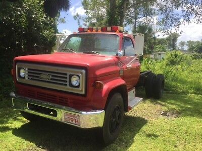 1978 Chevrolet Other Pickups  C-65 Chevrolet Heavy Duty Truck Cab and Chassis (Retired fire truck)