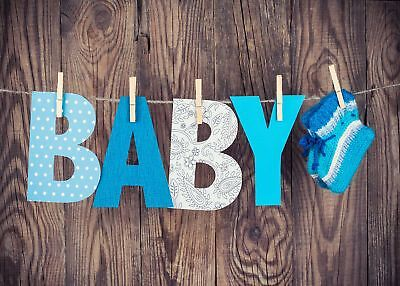 Baby Shower Background Decoration Photography Backdrop For Baby Vinyl Photo Prop