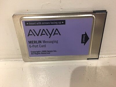 Refurbished Avaya Merlin Messaging 6-Port Card - 1000292874