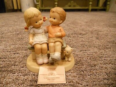 Vintage 1998 Enesco Memories of Yesterday I Only Have Eyes For You