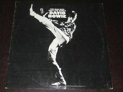 David Bowie rare '71 ITALY press LP The Man Who Sold The World on RCA w/ stampa