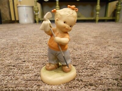 Vintage 1992 Enesco Memories of Yesterday You Won't Catch Me Being A Golf Widow