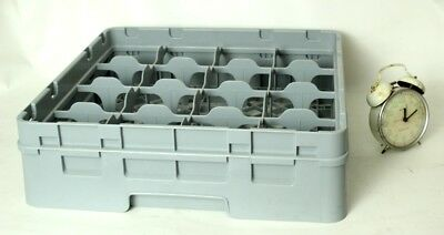 Dish Washer Rack 16 Compartments Glass Max Height 114mm - FREE Shipping [P4596]