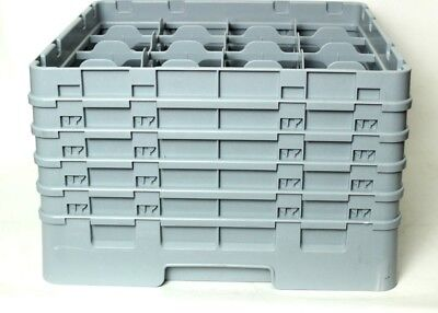 Dish Washer Rack GoldPlast 16 Compartments Max Glass Height 289mm [P4594]