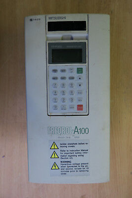 Mitsubishi Freqrol A100 Inverter/Variable Frequency Drive (VFD) 1.5kW (2HP)