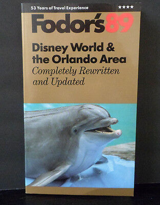 Fodor's 89 Disney World & the Orlando Area Travel Guide ~ New Condition