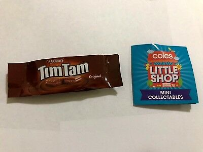 Coles Little Shop Mini Collectables ARNOTTS TIMTAM