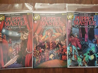 Puppet Master Curtain Call #1 2 3 Complete Set #1-3 -  Action Lab - Boarded