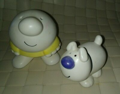 Ziggy and Fuzz the Dog Salt and Pepper Shakers Universal Press Syndicate 1979