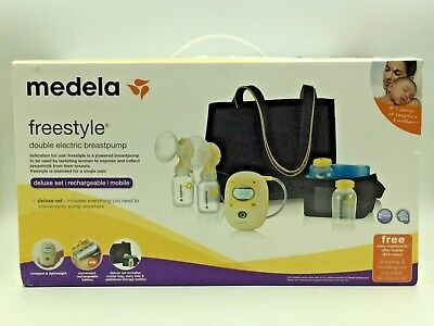 Medela Freestyle Double Electric Breastpump Deluxe Set (67060) *NEW