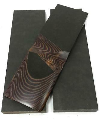 """Richlite Phenolic Knife Handle Scales 1/4"""" x 1.5"""" x 5""""- Red / Chocolate / Brown"""