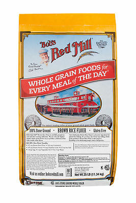 Bob's Red Mill Brown Rice Flour 25lb Bulk Case