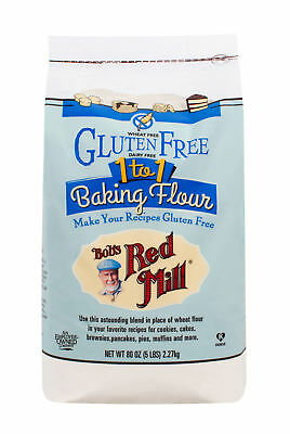Bob's Red Mill Gluten Free Baking Flour 5 pounds (Pack of 4)