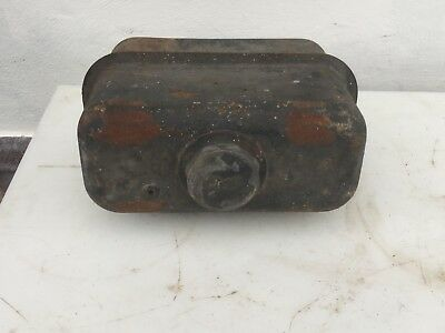 vintage fuel tank  / cap from a stationary engine, Lister