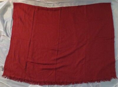 "VINTAGE ""SAS"" SCANDINAVIAN AIRLINES 1st CLASS BLANKET Orig. Label W. Germany"