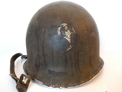 M1 Helmet LINER WWII 29th Infantry Division Normandy