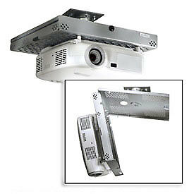 Universal Projector Security Mount, Key-Locking, Silver, Lot of 1