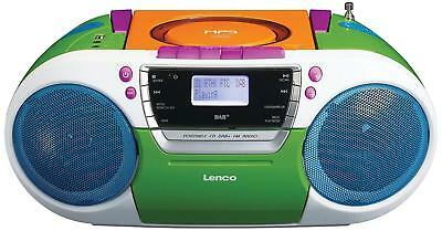 Lenco SCD-420 Portable Stereo With FM Radio, CD And Cassette Player - Red