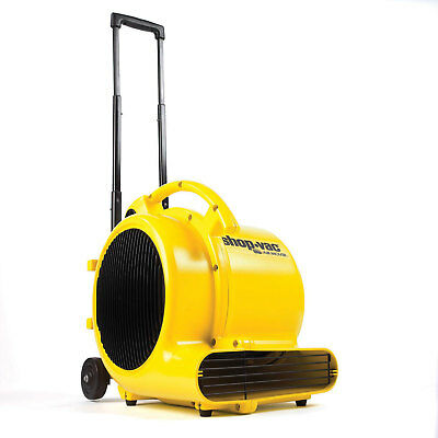 Shop-Vac® 3 Speed Air Mover Floor Dryer, 1/2 HP, Lot of 1