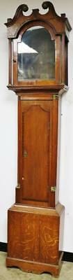 Solid Oak Longcase Clock Case or Arched Top Oak Grandfather Slimline Case