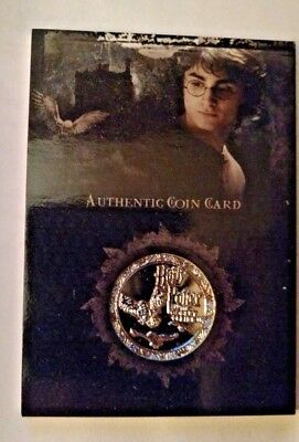 Harry Potter Authentic Gold Standard Coin Card - CC2