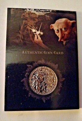 Harry Potter Authentic Gold Standard Coin Card - CC1