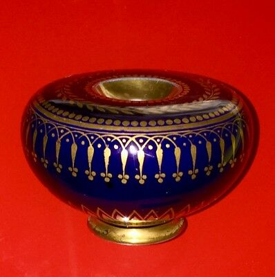 A 1832 Sevres Porcelain Small Inkwell