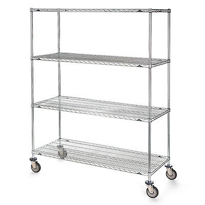 "Metro Super Erecta Trucks with Wire Shelves, 60""W x 24""D x 79""H, Lot of 1"
