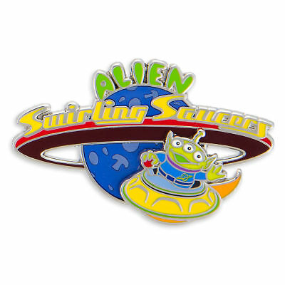 Disney Parks Toy Story Land Alien Swirling Saucers Pin