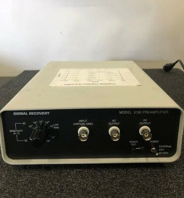 Signal Recovery 5182 Preamplifier