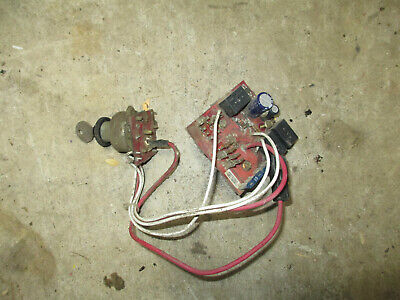 John Deere 345 LX X GT series ignition switch AM128754 AM127824 AM132500