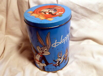* Bugs Bunny 50Th Anniversary Tin Brachs Candy 1989 Looney Tunes Cast *