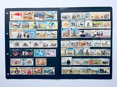 Isle of Man Collection Of 20 Sets Unmounted Mint Early 1980s