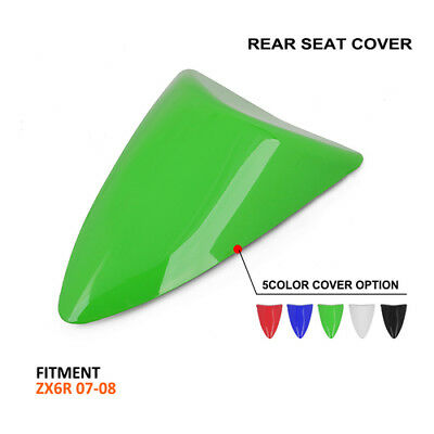 Motorcycle Rear Seat Cowl Fairing Cover For Kawasaki ZX6R ZX 6R 2007 2008