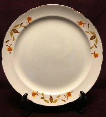 Jewel Tea Autumn Leaf 10 Inch Plate Good Condition