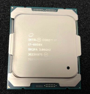 Intel i7-6950X SR2PA Extreme Edition (10 Core, up to 3.5 GHz) 25MB CPU Processor