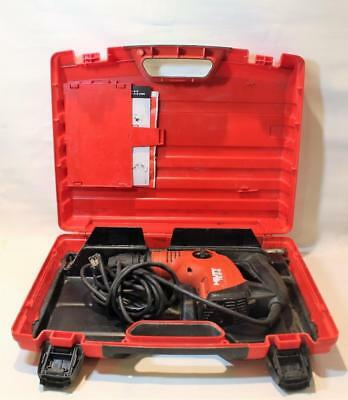 Hilti TE 6-S Corded Rotary Hammer Drill with Case & a Few Bits 120V 650W