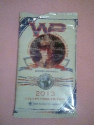2013 Boy Scouts of America National Jamboree Baden-Powell WP Trading Cards Pack