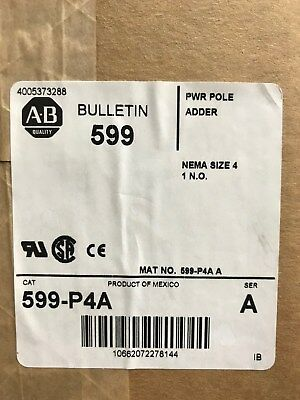 Allen Bradley 599-P4A Power Pole, Size 4