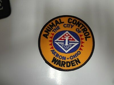 Old Akron Ohio Animal Control Police Patch
