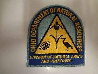 Old Ohio Department of Natural Resources Police Patch
