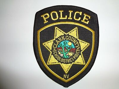 Clark County Nevada School District Police Patch