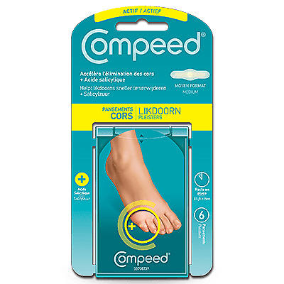 COMPEED Pansement Cors + 6 pansements Compeed